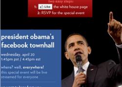 A.B.D Başkanı Barack Obama Facebook Konferans Salonunda